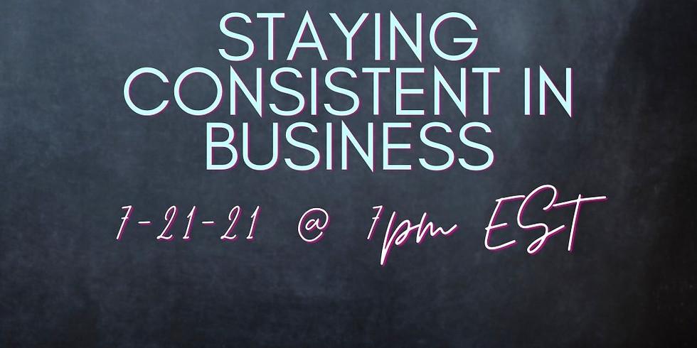 GBS Online: Consistency in Business