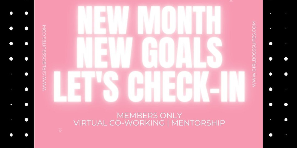 January Members Only Mentorship