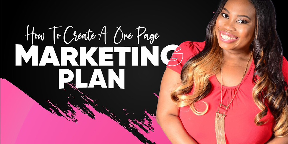 Create YOUR Marketing Plan