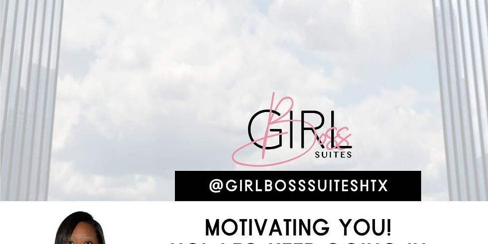 Motivating You! How to keep going in business!