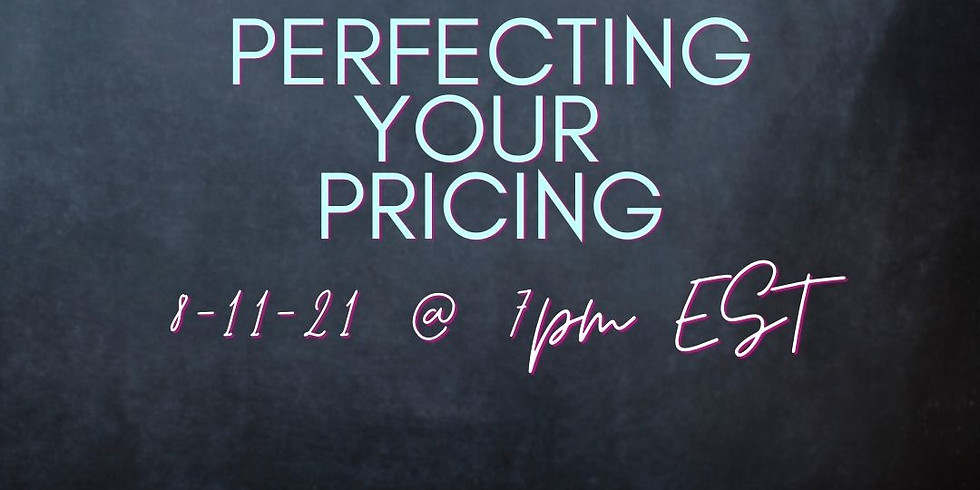 GBS Online: Perfecting Your Pricing