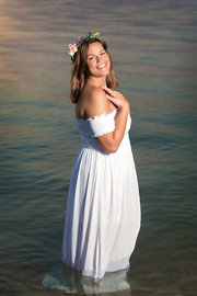 Senior Girl Beach