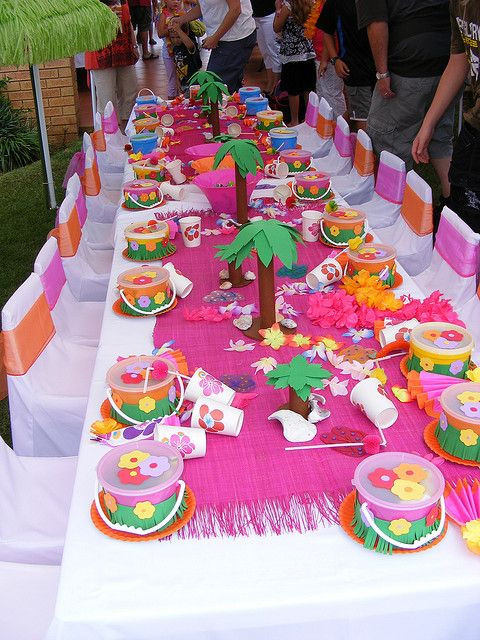 Themed Party: Luau