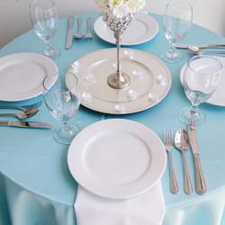 Tiffany Blue Linen