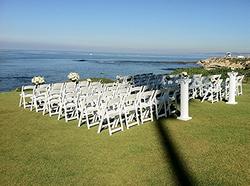 White Chairs, White Columns