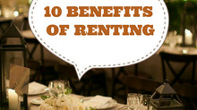 10 Benefits of Renting
