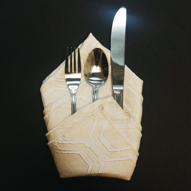 Party Planning Made Easy: The Diamond Napkin Fold