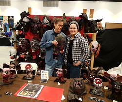 Starstruck! _choptopmoseley just bought a mask! Must be doing something right _c4_winnipeg Horror Co