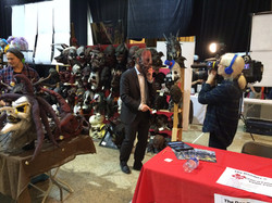 CBC News at our booth