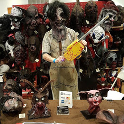 Leatherface stopped by for a visit