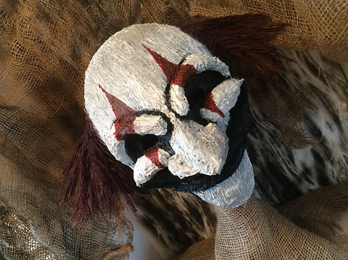 The Red Clown (Half Mask)