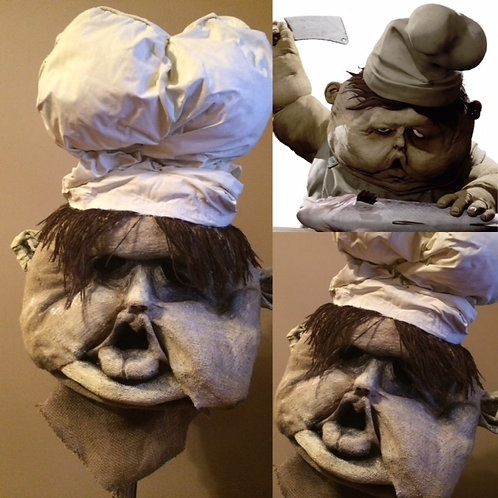 Custom Order - Chef from Little Nightmares