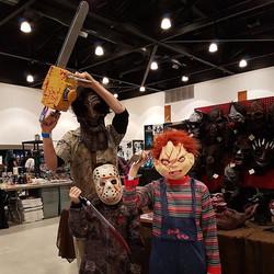 Horror Family #leatherface #chucky #jason #horrorcon