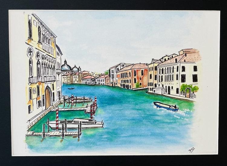 Grand Canal Venice Print