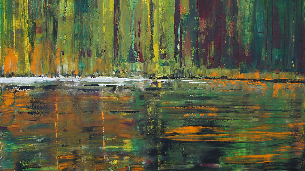 Forest Pool - SOLD