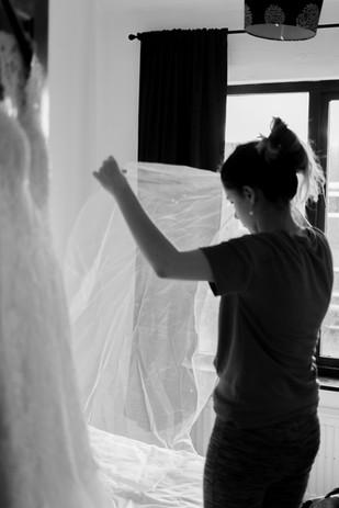Bride Preperations