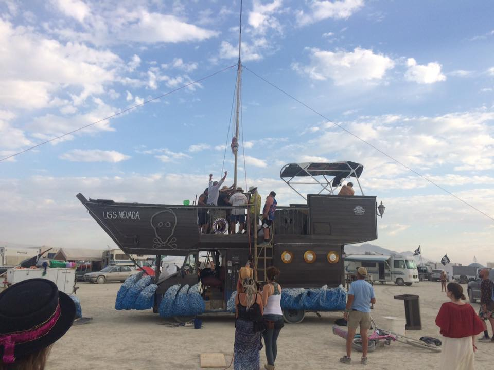 2017 USS Nevada mast erected