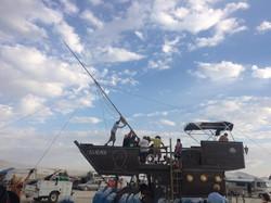 2017 USS Nevada mast erection