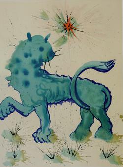 Salvador Dali Lith 1968 Sternzeichen 60x80 cm E6A9724_edited
