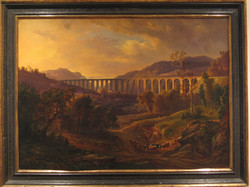Romantische Landschaft 19. Jh.120 x 100 cm