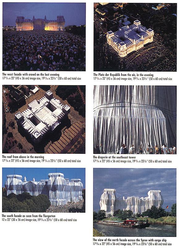 Die Verhüllung des Reichstages