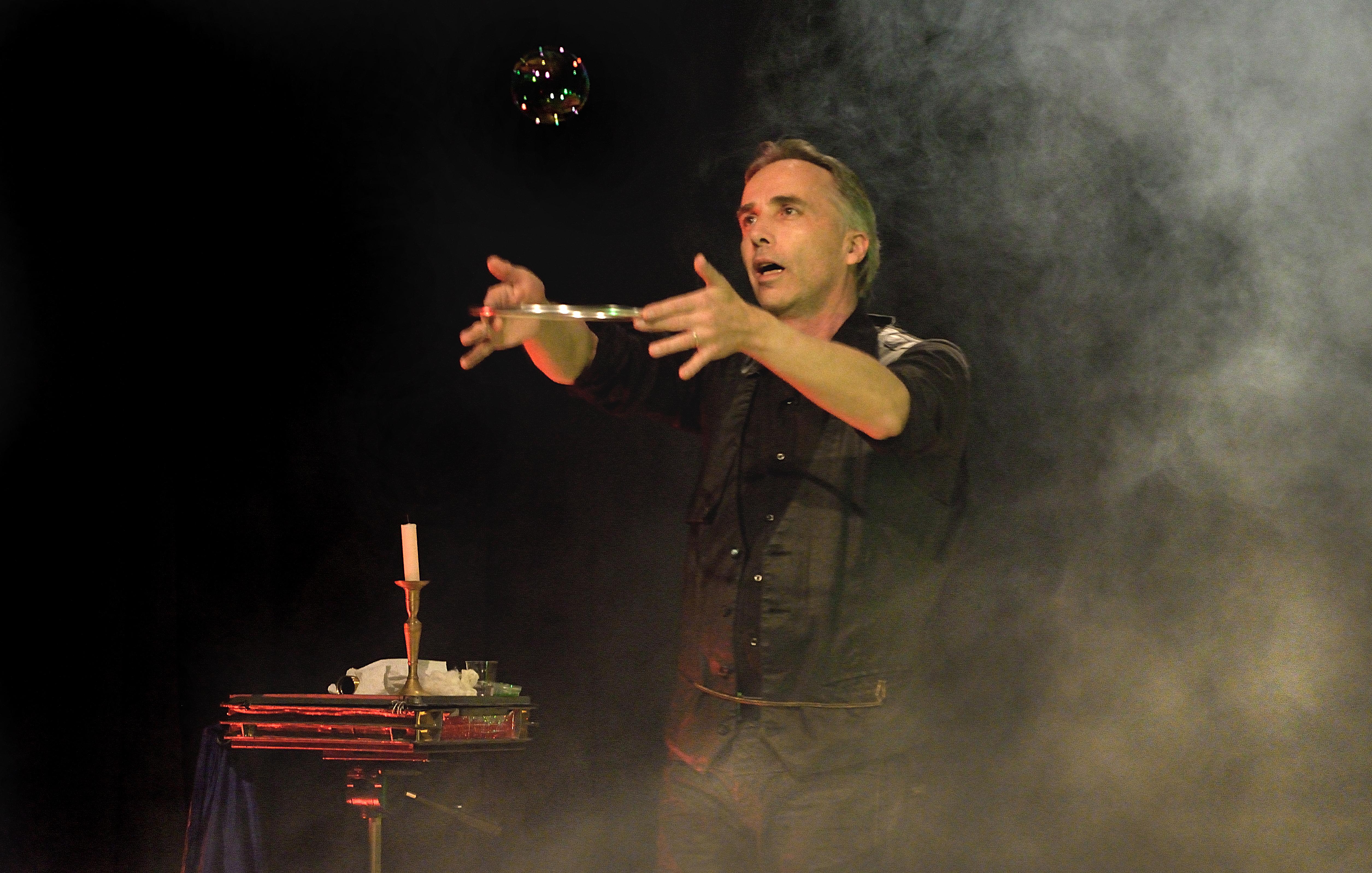 Teatro Vercelli - bolle di sapone