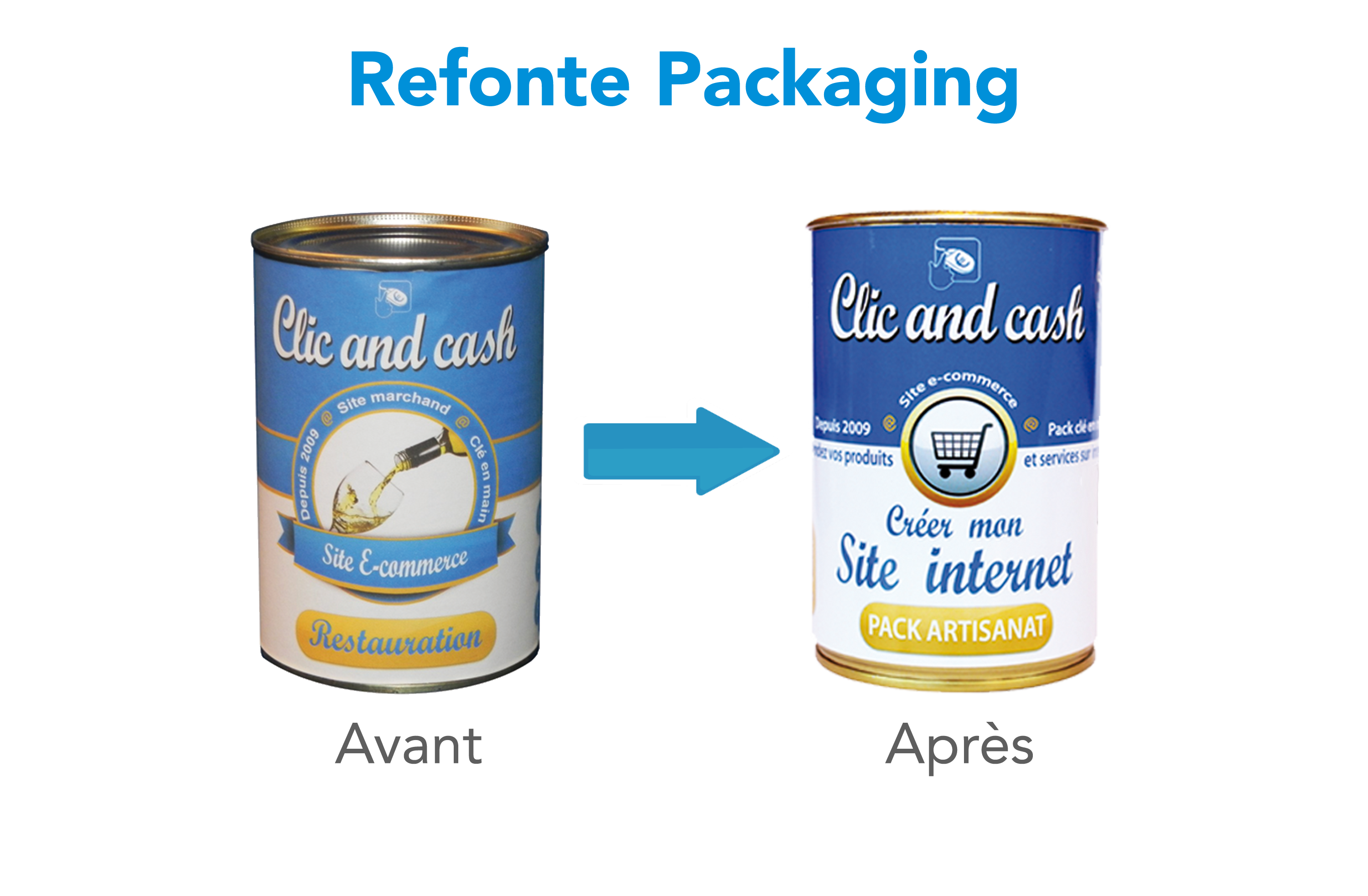 Refonte Packaging