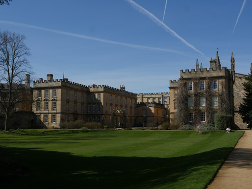 New College Oxford founded 1379 - great location for a shoot.