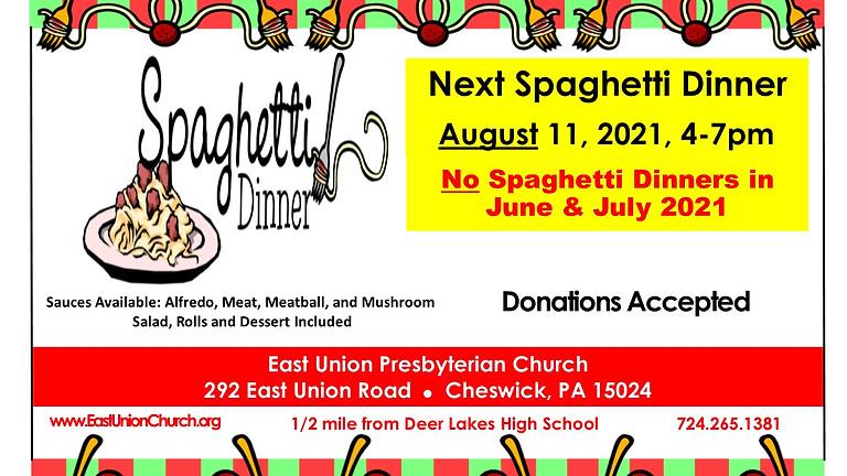 Spaghetti Dinner in August