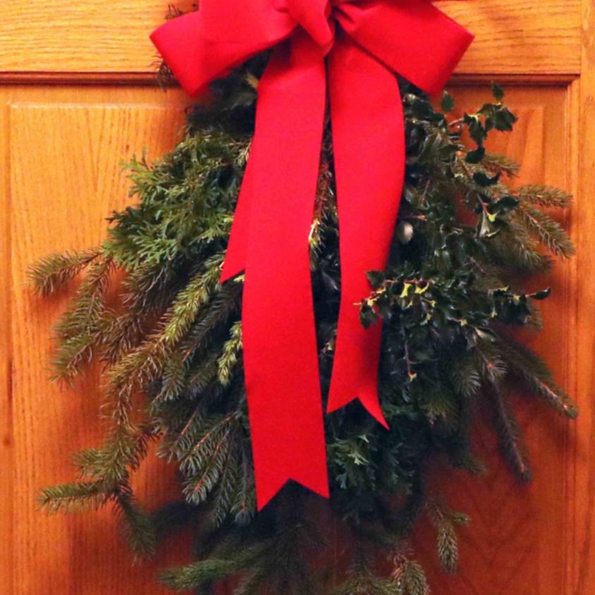 Christmas Cheer Door Swag Fundraiser