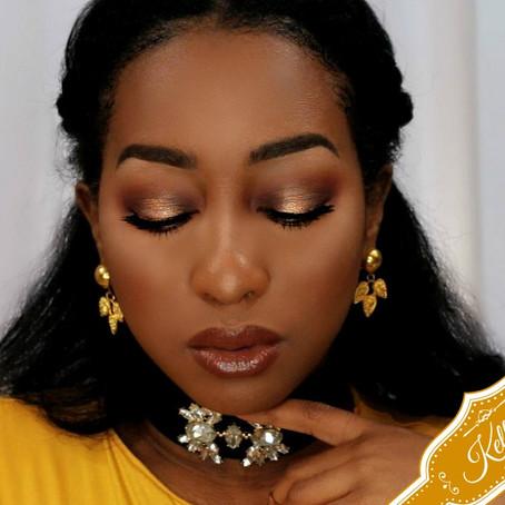 Gold Halo Smokey Tutorial | Jaclyn Hill X Morphe Cosmetics Palette
