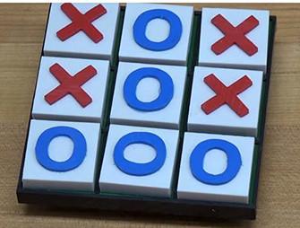 Plasti-Block™ -A Portable Tic-Tac-Toe Game