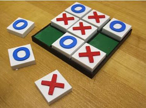 Making A Portable Tic-Tac-Toe Game