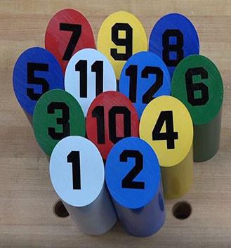 Plasti-Block™  Twelvepins game