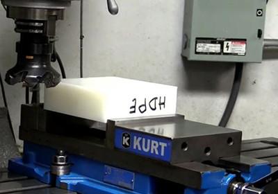 Machining Plastic: How to Square a Plastic Block