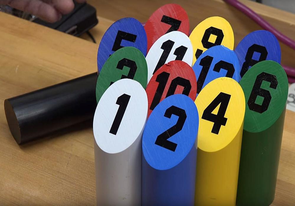 Plasti-Block Twelvepins game