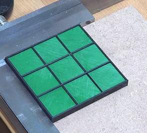 Plasti-Block™ -Tic-Tac-Toe Game