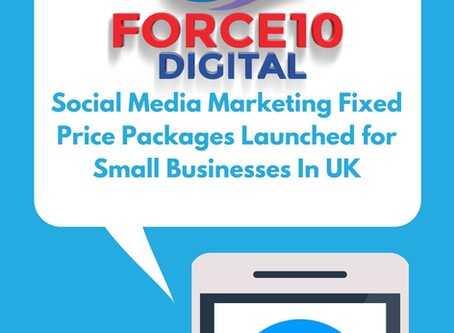 Fixed Price Social Media Packages for Small Businesses