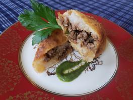 Papas rellenas, a Peruvian comfort food