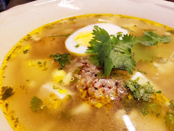 Sopa de quinua, Quinua kashki