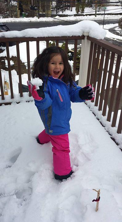 Snow ball fight!