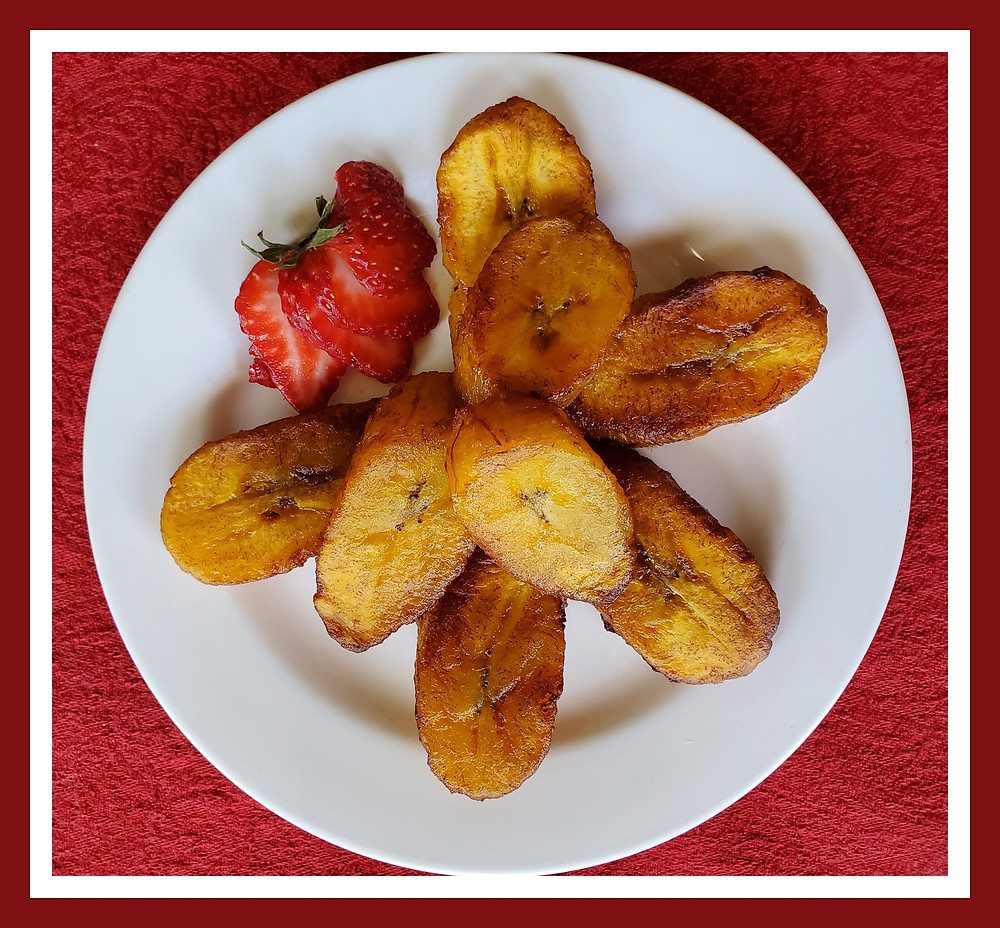 Maduros or Fried Sweet Plantains