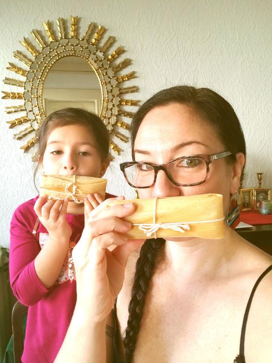 Tamales a la Chiquimamis