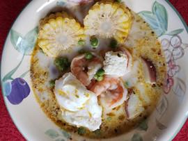 Chupe de camarones, a beloved Peruvian soup