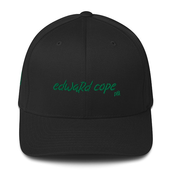 Edward Cope Structured Twill Cap (Kelly Green)