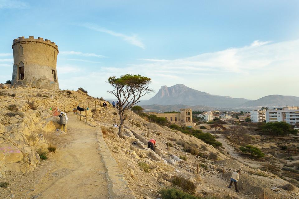 Arkeologiske arbeidet på Santuarion de la Malladeta