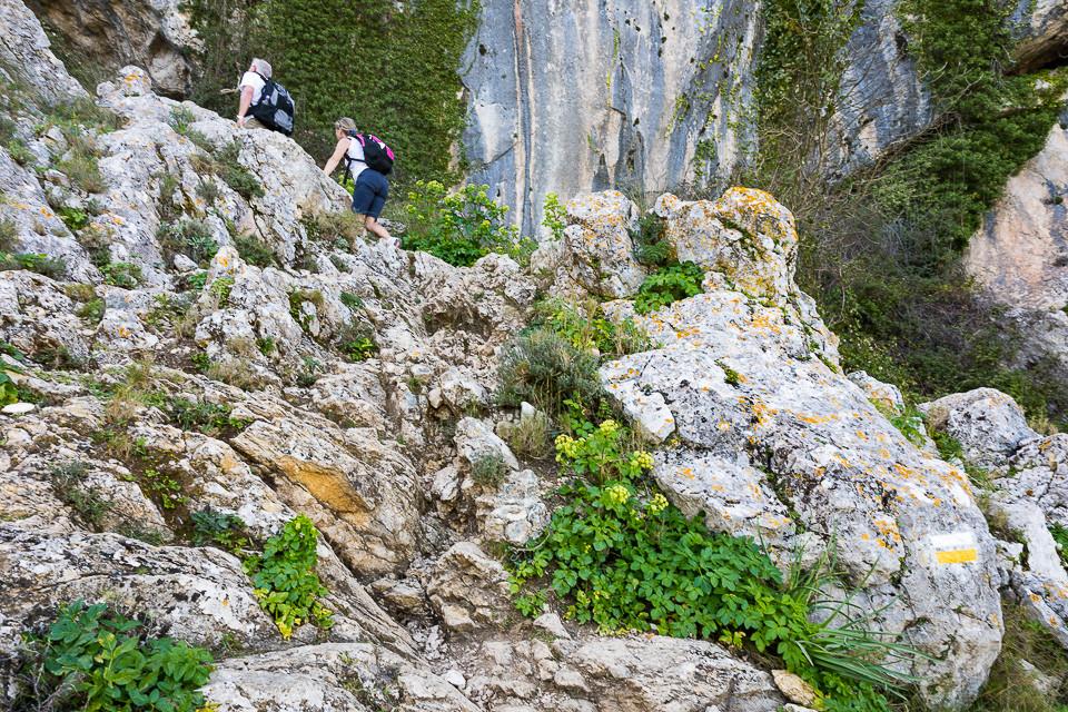Siste klatretur før hulen