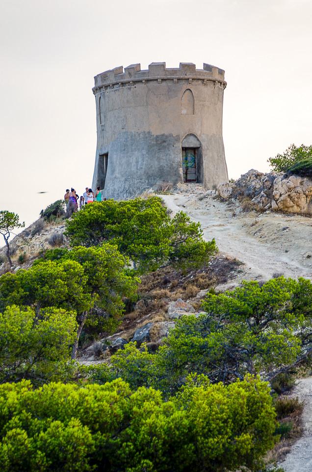Tårnet på Santuario de la Malladeta