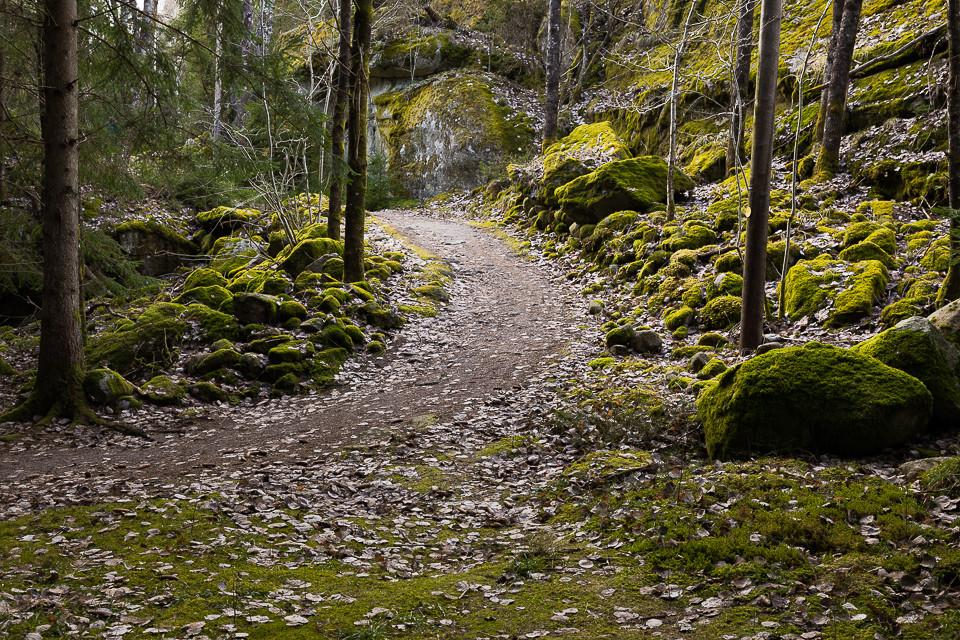 Løpebanen i Prästengen i Strømstad