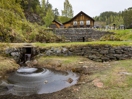 Blåfarveverket - a piece of cultural history